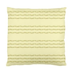 Background Pattern Lines Standard Cushion Case (one Side)