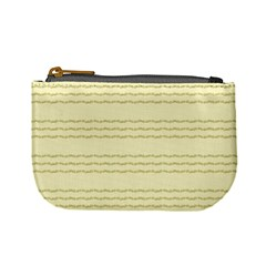 Background Pattern Lines Mini Coin Purses