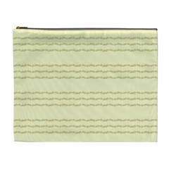 Background Pattern Lines Cosmetic Bag (XL)
