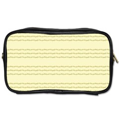 Background Pattern Lines Toiletries Bags