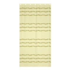Background Pattern Lines Shower Curtain 36  x 72  (Stall)