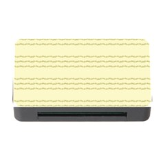 Background Pattern Lines Memory Card Reader With Cf