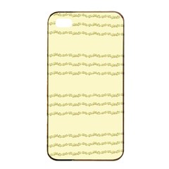 Background Pattern Lines Apple iPhone 4/4s Seamless Case (Black)