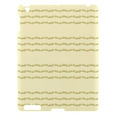 Background Pattern Lines Apple Ipad 3/4 Hardshell Case