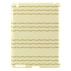 Background Pattern Lines Apple Ipad 3/4 Hardshell Case (compatible With Smart Cover)
