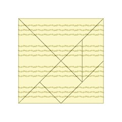 Background Pattern Lines Acrylic Tangram Puzzle (4  x 4 )