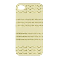 Background Pattern Lines Apple Iphone 4/4s Premium Hardshell Case