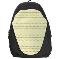 Background Pattern Lines Backpack Bag