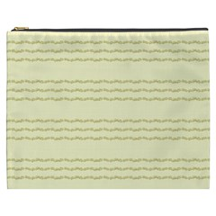 Background Pattern Lines Cosmetic Bag (xxxl)