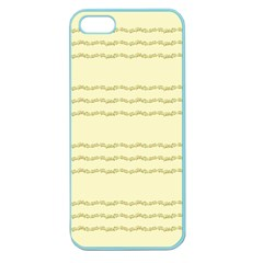 Background Pattern Lines Apple Seamless Iphone 5 Case (color)