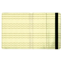 Background Pattern Lines Apple Ipad 3/4 Flip Case