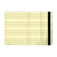 Background Pattern Lines Apple Ipad Mini Flip Case