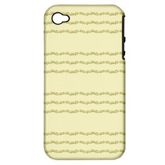 Background Pattern Lines Apple Iphone 4/4s Hardshell Case (pc+silicone)