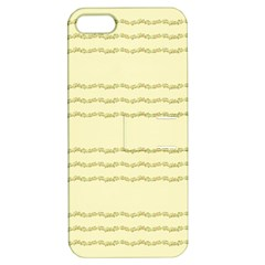 Background Pattern Lines Apple Iphone 5 Hardshell Case With Stand