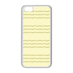 Background Pattern Lines Apple Iphone 5c Seamless Case (white)
