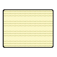 Background Pattern Lines Double Sided Fleece Blanket (small)