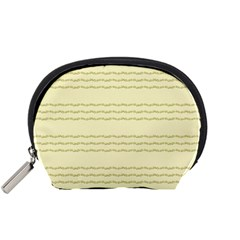 Background Pattern Lines Accessory Pouches (Small)