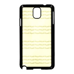 Background Pattern Lines Samsung Galaxy Note 3 Neo Hardshell Case (black)