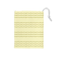 Background Pattern Lines Drawstring Pouches (medium)