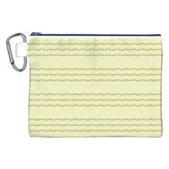 Background Pattern Lines Canvas Cosmetic Bag (xxl)