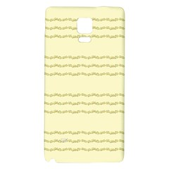 Background Pattern Lines Galaxy Note 4 Back Case