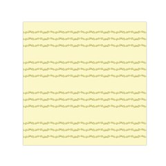 Background Pattern Lines Small Satin Scarf (square)