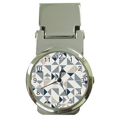 Geometric Triangle Modern Mosaic Money Clip Watches