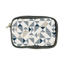 Geometric Triangle Modern Mosaic Coin Purse
