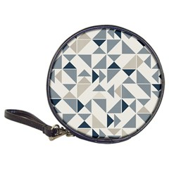 Geometric Triangle Modern Mosaic Classic 20 Cd Wallets
