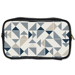 Geometric Triangle Modern Mosaic Toiletries Bags