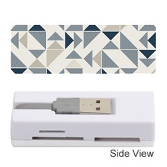 Geometric Triangle Modern Mosaic Memory Card Reader (stick)