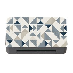 Geometric Triangle Modern Mosaic Memory Card Reader With Cf