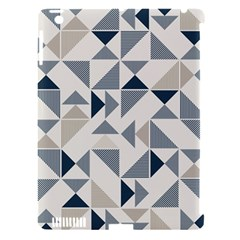 Geometric Triangle Modern Mosaic Apple Ipad 3/4 Hardshell Case (compatible With Smart Cover)