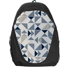 Geometric Triangle Modern Mosaic Backpack Bag