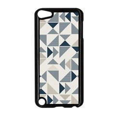 Geometric Triangle Modern Mosaic Apple Ipod Touch 5 Case (black)