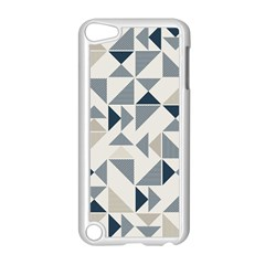 Geometric Triangle Modern Mosaic Apple Ipod Touch 5 Case (white)