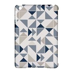 Geometric Triangle Modern Mosaic Apple Ipad Mini Hardshell Case (compatible With Smart Cover)