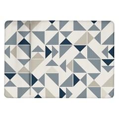 Geometric Triangle Modern Mosaic Samsung Galaxy Tab 10 1  P7500 Flip Case