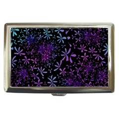 Retro Flower Pattern Design Batik Cigarette Money Cases