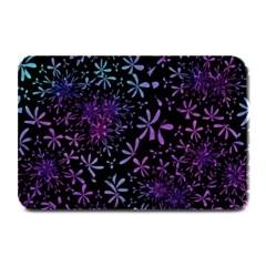 Retro Flower Pattern Design Batik Plate Mats