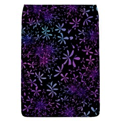 Retro Flower Pattern Design Batik Flap Covers (l)