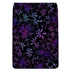 Retro Flower Pattern Design Batik Flap Covers (s)