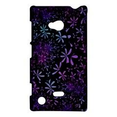 Retro Flower Pattern Design Batik Nokia Lumia 720