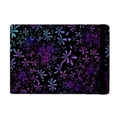 Retro Flower Pattern Design Batik iPad Mini 2 Flip Cases