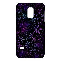 Retro Flower Pattern Design Batik Galaxy S5 Mini