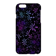 Retro Flower Pattern Design Batik Apple Iphone 6 Plus/6s Plus Hardshell Case