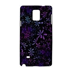 Retro Flower Pattern Design Batik Samsung Galaxy Note 4 Hardshell Case