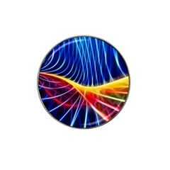 Color Colorful Wave Abstract Hat Clip Ball Marker
