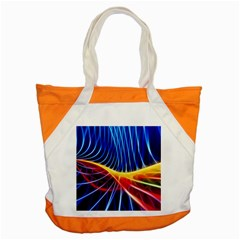 Color Colorful Wave Abstract Accent Tote Bag