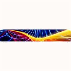 Color Colorful Wave Abstract Small Bar Mats